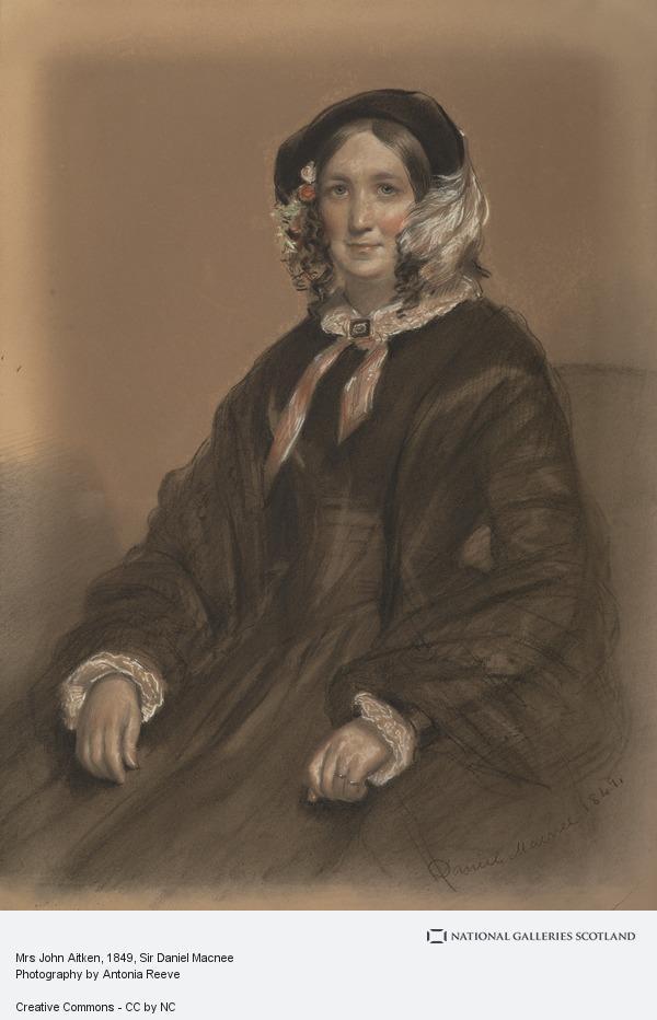 Sir Daniel Macnee, Mrs John Aitken