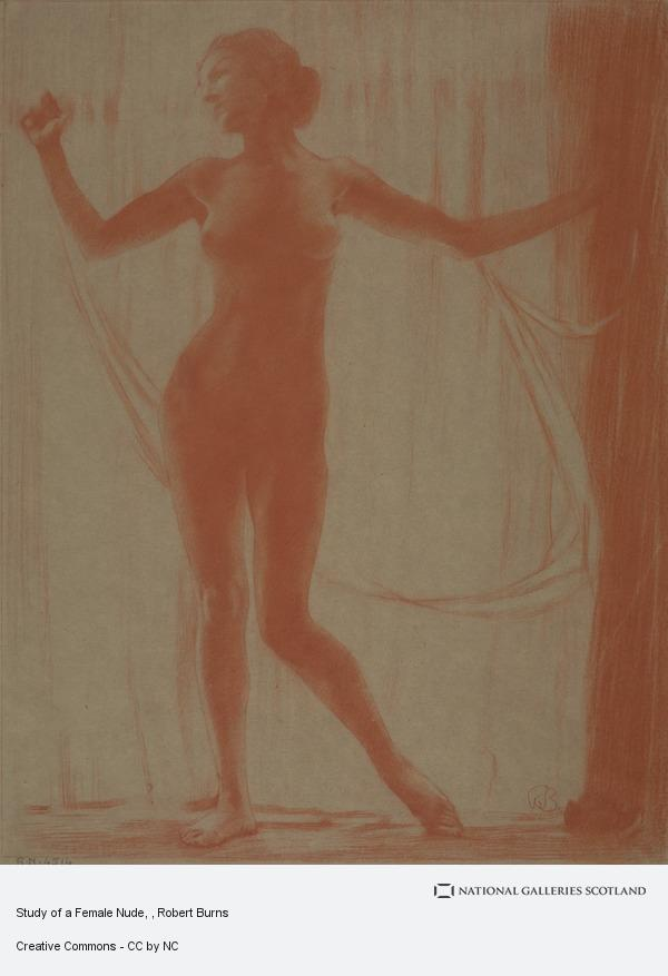 Robert Burns, Study of a Female Nude