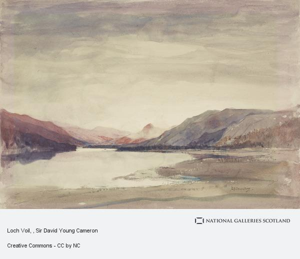 Sir David Young Cameron, Loch Voil