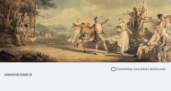 David Allan, A Highland Dance (About 1780)