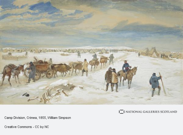 William Simpson, Camp Division, Crimea