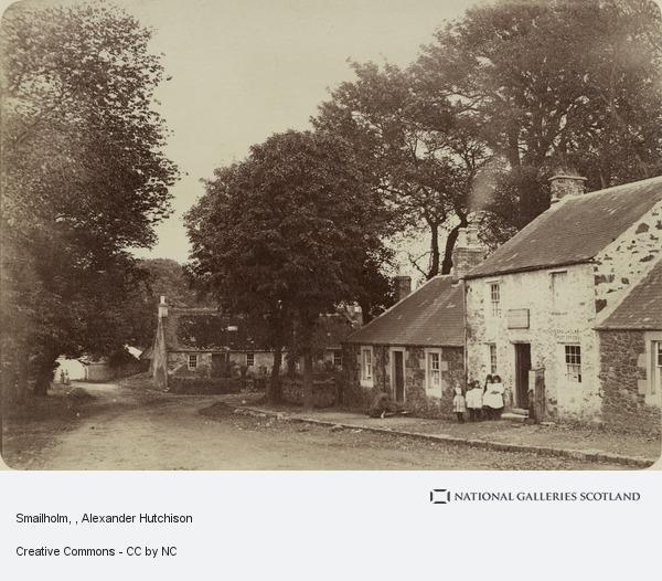 Alexander Hutchison, Smailholm