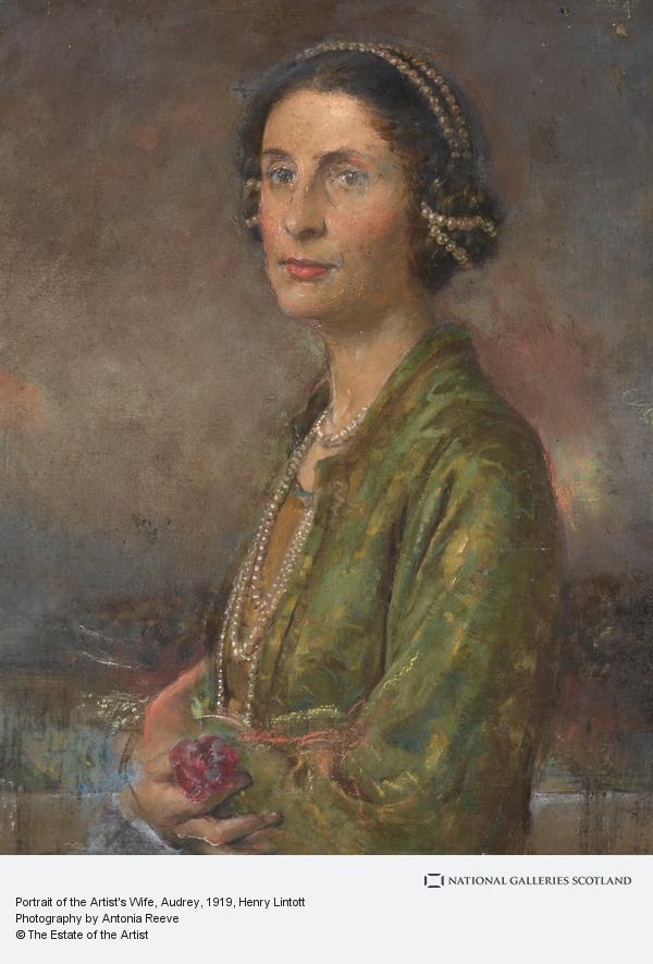 Henry Lintott, Portrait of the Artist's Wife, Audrey