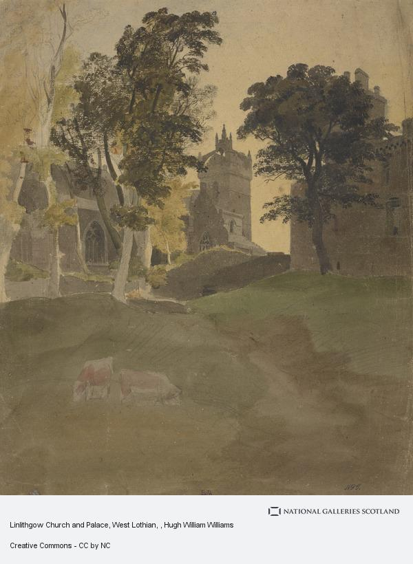 Hugh William Williams, Linlithgow Church and Palace, West Lothian