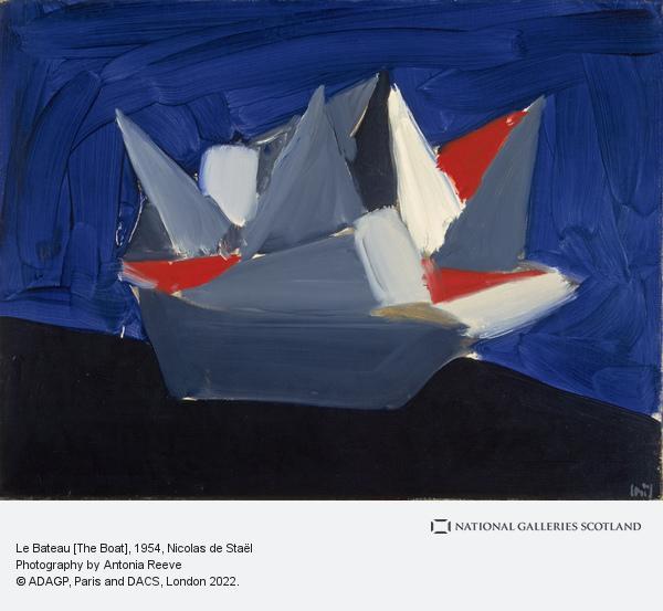 Nicolas de Staël, Le Bateau [The Boat]