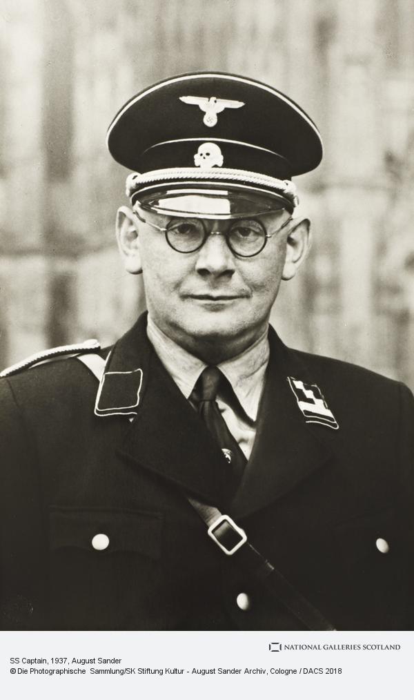 August Sander, SS Captain, 1937 (1937)