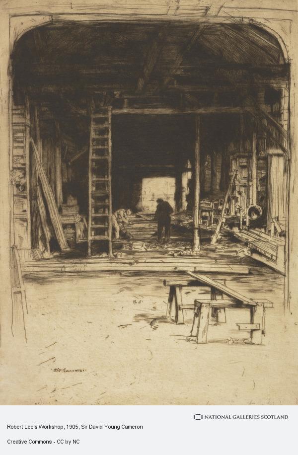 Sir David Young Cameron, Robert Lee's Workshop