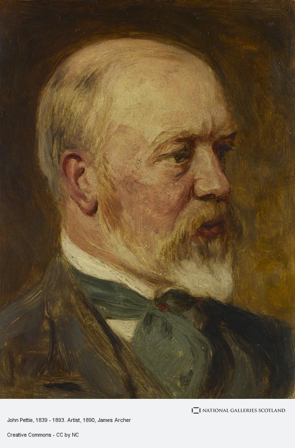 James Archer, John Pettie, 1839 - 1893. Artist