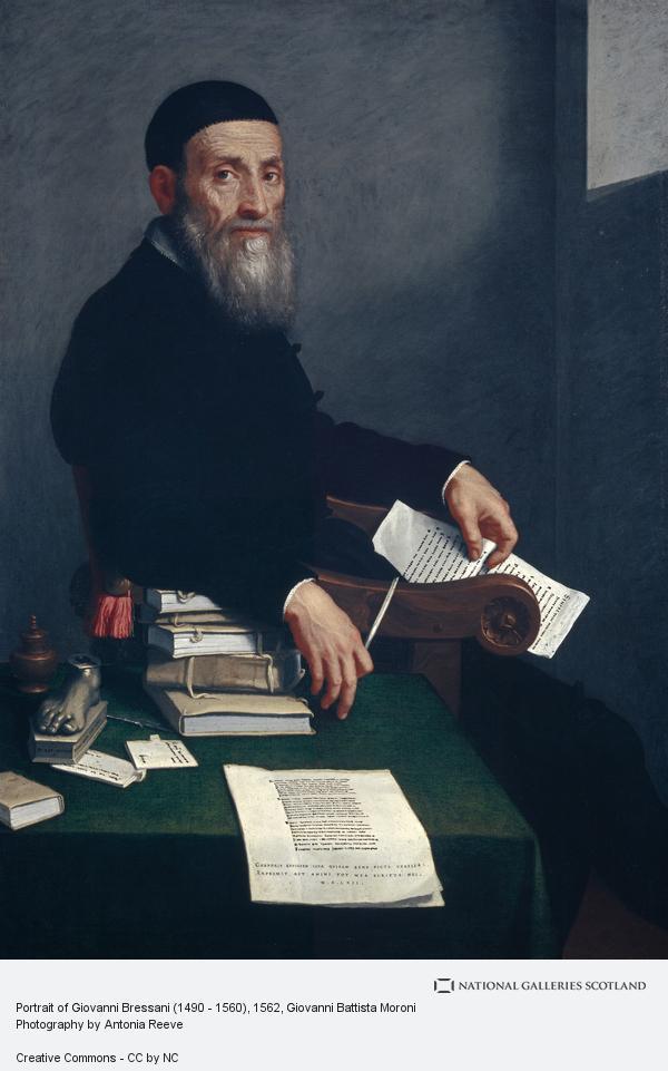 Giovanni Battista Moroni, Portrait of Giovanni Bressani (1490 - 1560)