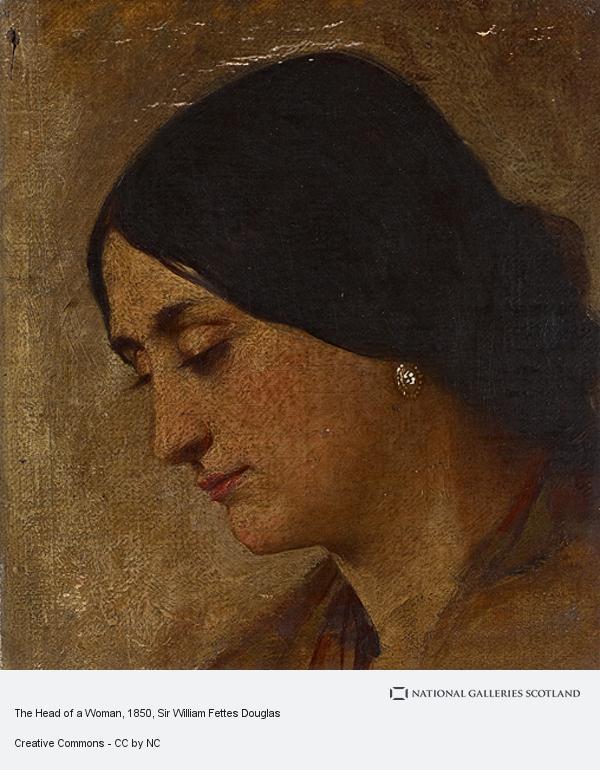 Sir William Fettes Douglas, The Head of a Woman