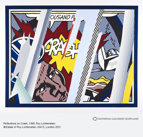 Roy Lichtenstein, Reflections on Crash