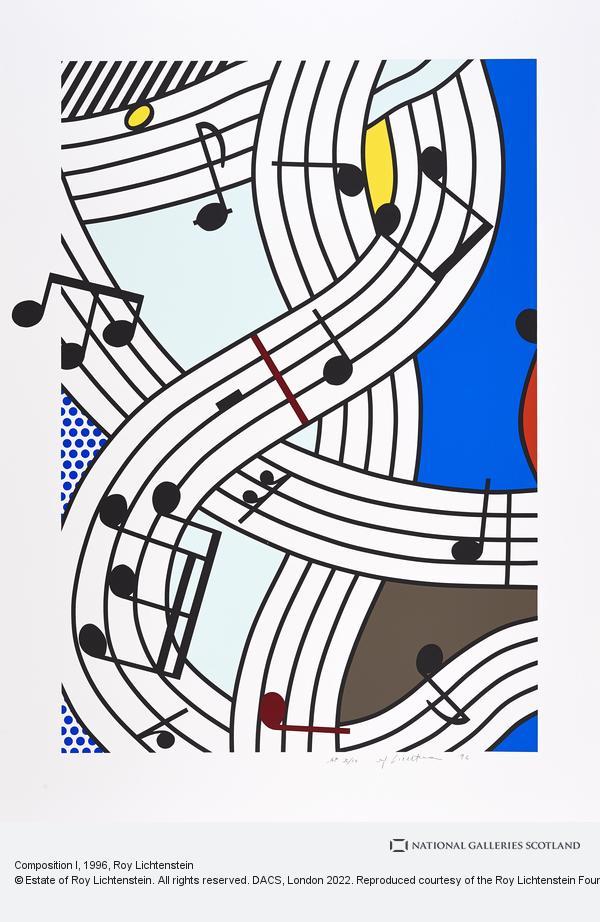 Roy Lichtenstein, Composition I