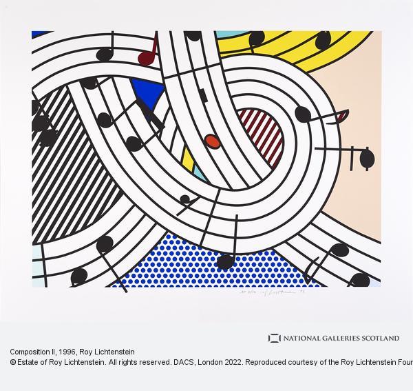 Roy Lichtenstein, Composition II