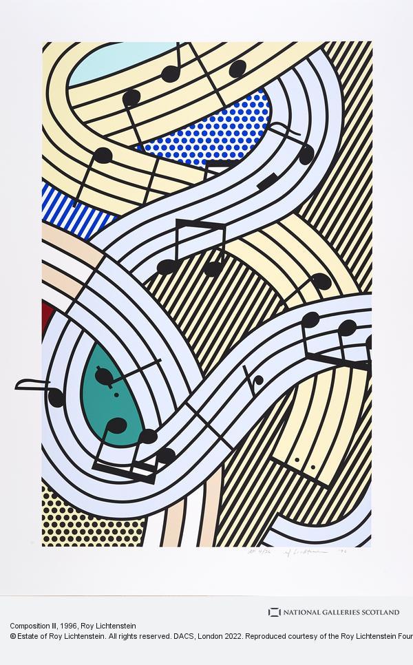 Roy Lichtenstein, Composition III