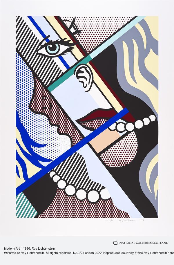 Roy Lichtenstein, Modern Art I