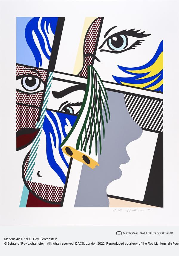 Roy Lichtenstein, Modern Art II
