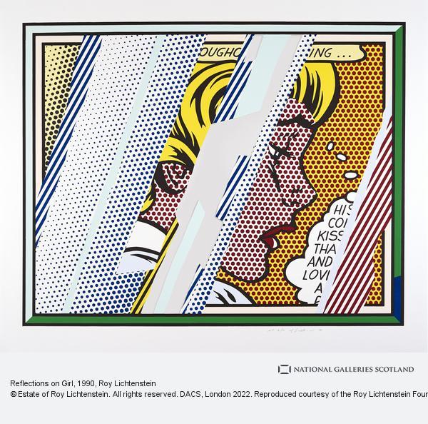 Roy Lichtenstein, Reflections on Girl