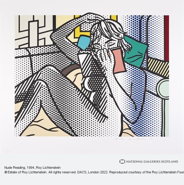 Roy Lichtenstein, Nude Reading