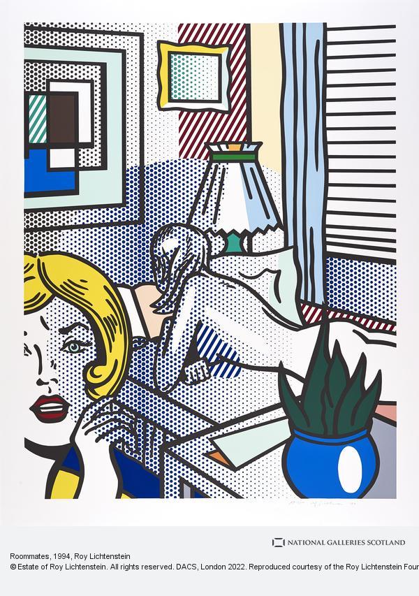 Roy Lichtenstein, Roommates