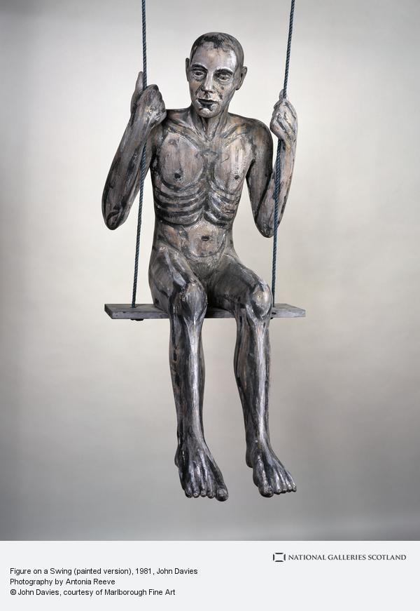 John Davies, Figure on a Swing (painted version)