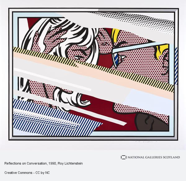 Roy Lichtenstein, Reflections on Conversation