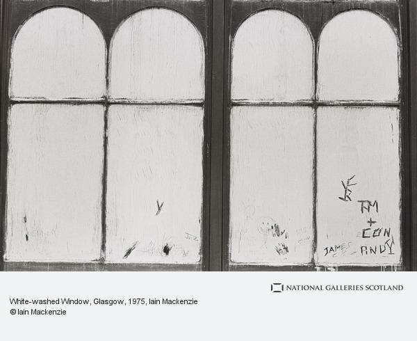 Iain Mackenzie, White-washed Window, Glasgow