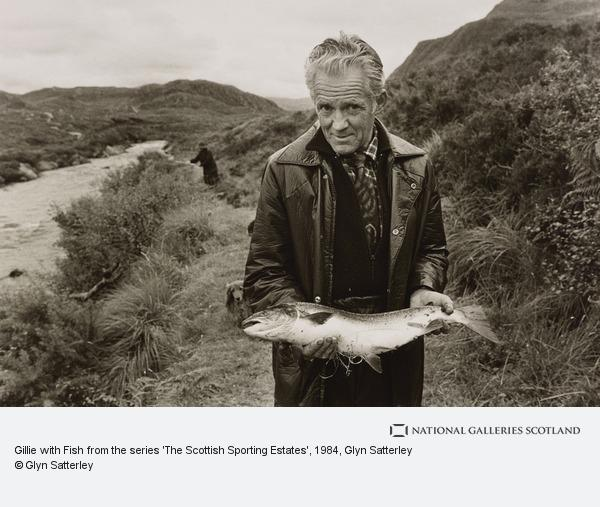 Glyn Satterley, Gillie with Fish from the series 'The Scottish Sporting Estates'