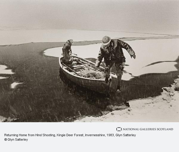 Glyn Satterley, Returning Home from Hind Shooting, Kingie Deer Forest, Invernesshire (1983)