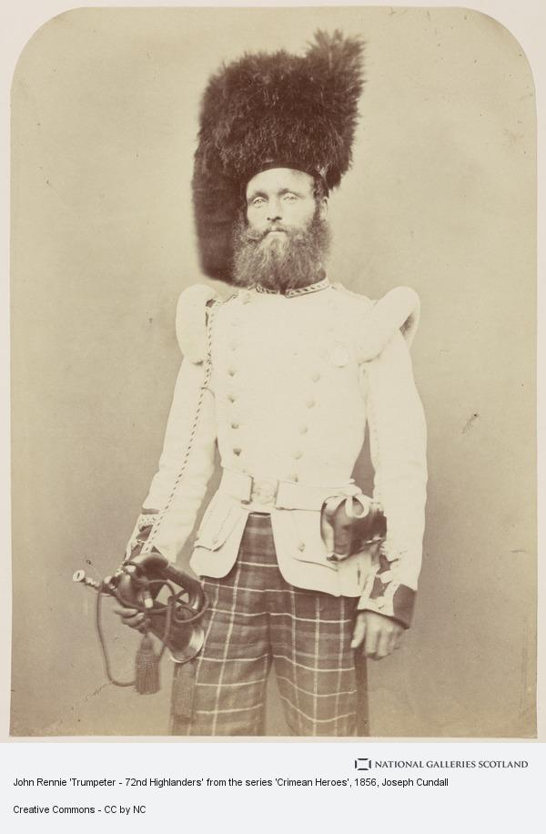 Joseph Cundall, John Rennie 'Trumpeter - 72nd Highlanders' from the series 'Crimean Heroes'