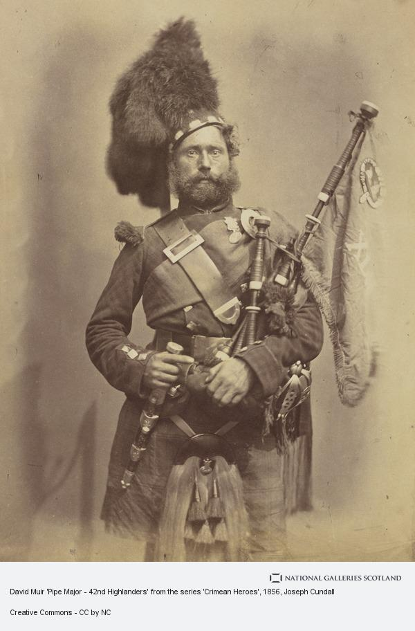 Joseph Cundall, David Muir 'Pipe Major - 42nd Highlanders' from the series 'Crimean Heroes'