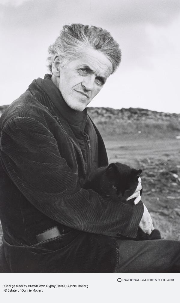 Gunnie Moberg, George Mackay Brown with Gypsy (1990)