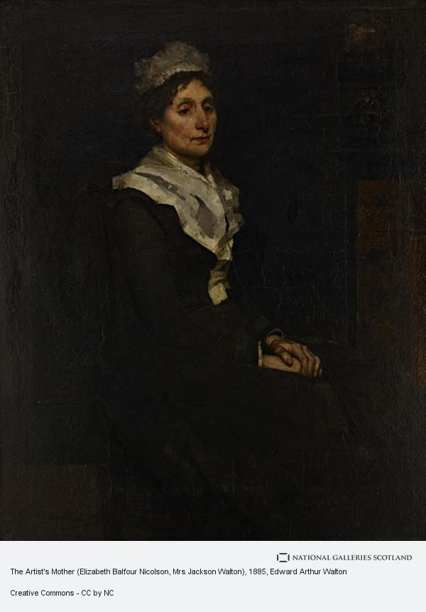Edward Arthur Walton, The Artist's Mother (Elizabeth Balfour Nicolson, Mrs Jackson Walton)