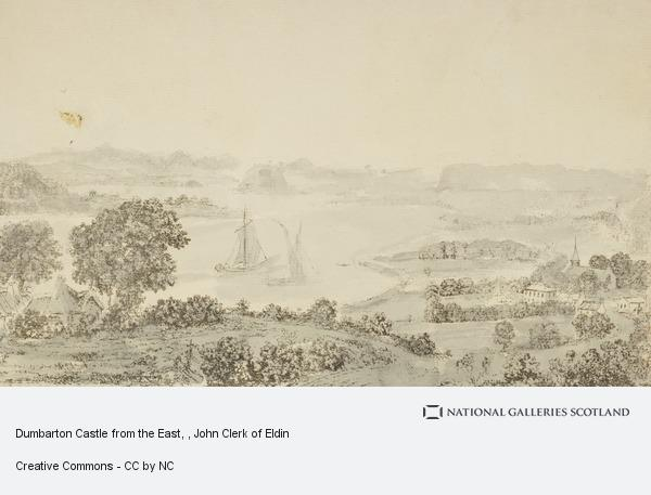 John Clerk, Dumbarton Castle from the East