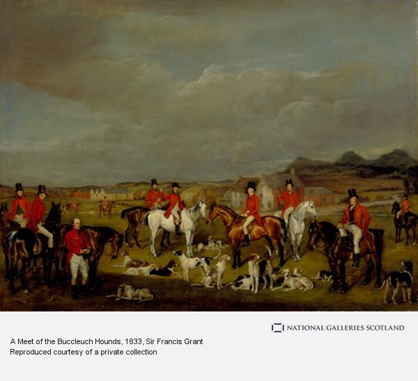 Sir Francis Grant, A Meet of the Buccleuch Hounds