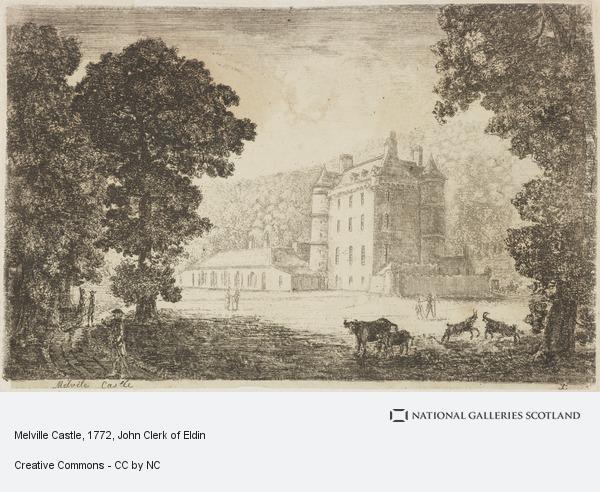 John Clerk, Melville Castle