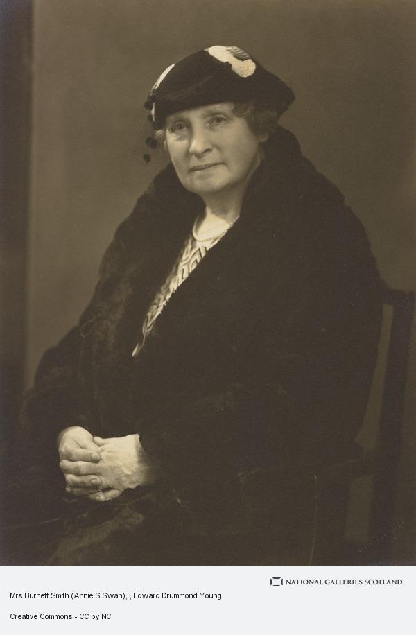 Edward Drummond Young, Mrs Burnett Smith (Annie S Swan)