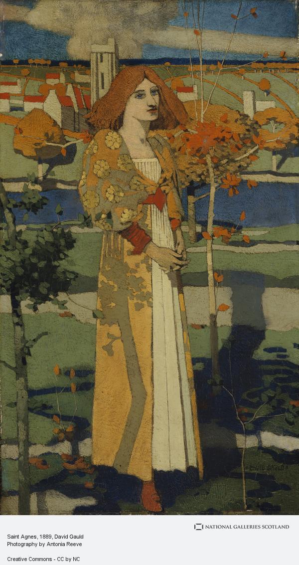 David Gauld, Saint Agnes (1889 - 1890)