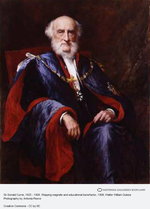 Walter William Ouless, Sir Donald Currie, 1825 - 1909. Shipping magnate and educational benefactor