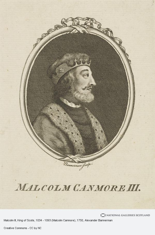 Alexander Bannerman, Malcolm III Canmore, d. 1093. King of Scots