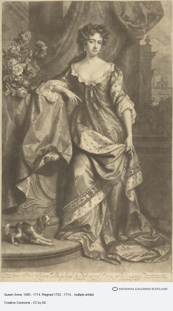 John Smith, Queen Anne, 1665 - 1714. Reigned 1702 - 1714