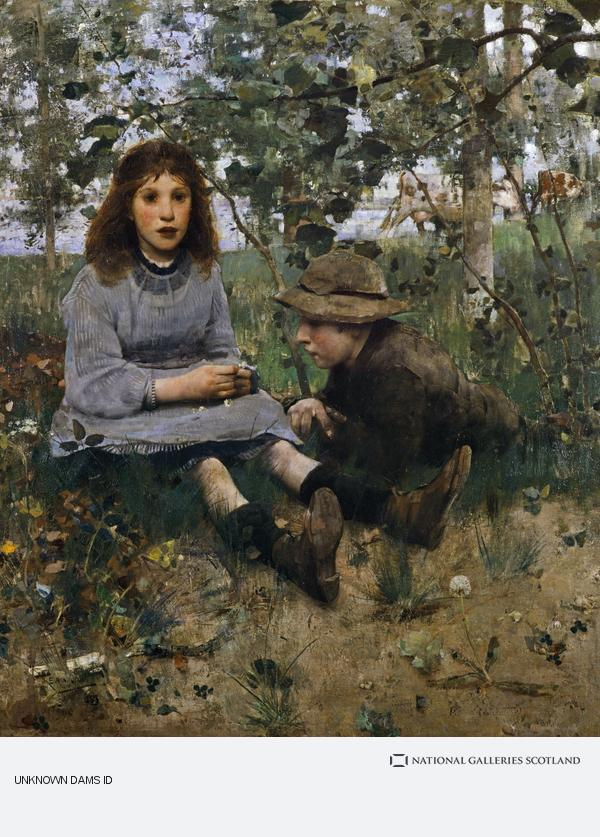 Edward Arthur Walton, A Daydream (1885)