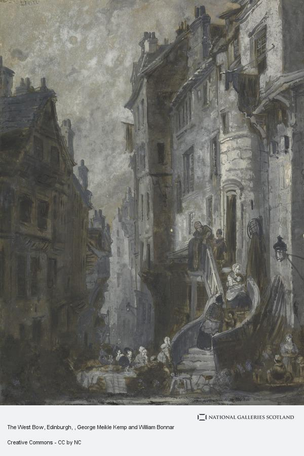 George Meikle Kemp and William Bonnar, The West Bow, Edinburgh