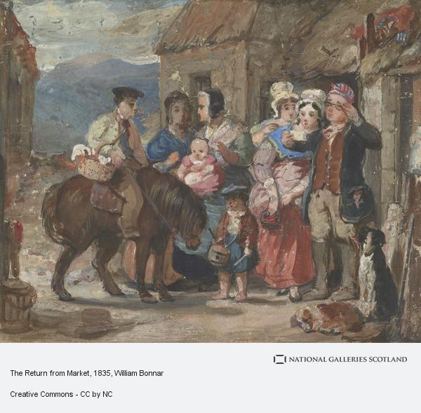 William Bonnar, The Return from Market
