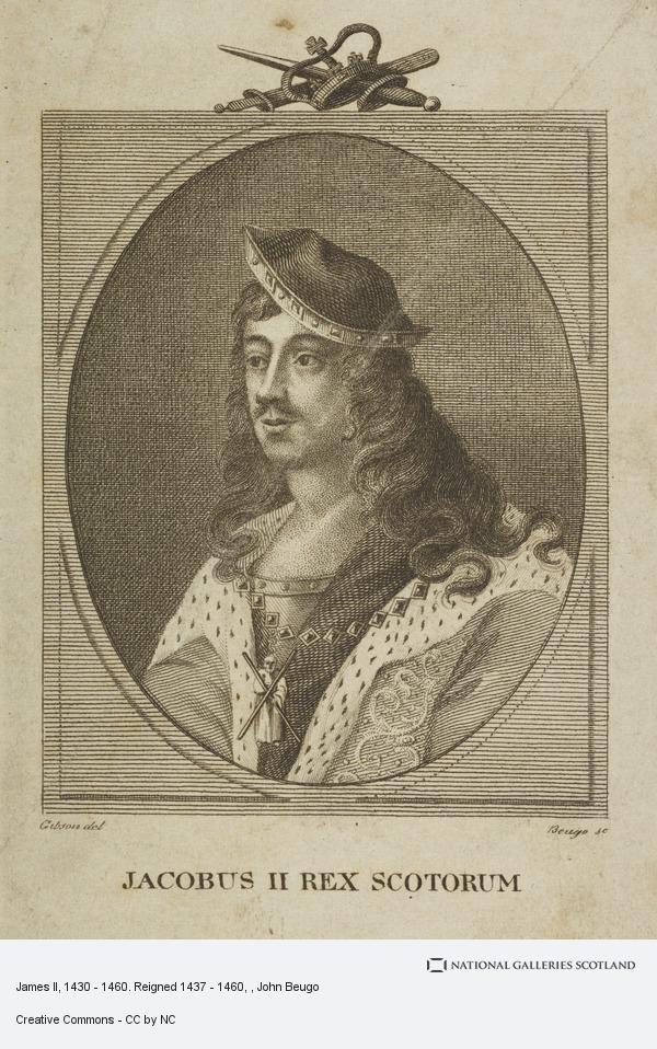 John Beugo, James II, 1430 - 1460. Reigned 1437 - 1460