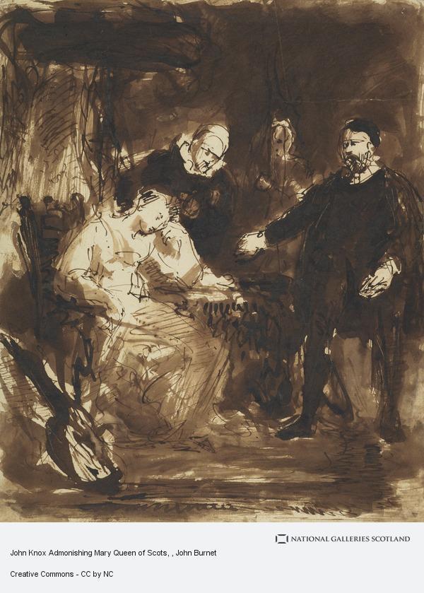 John Burnet, John Knox Admonishing Mary Queen of Scots
