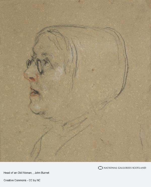 John Burnet, Head of an Old Woman