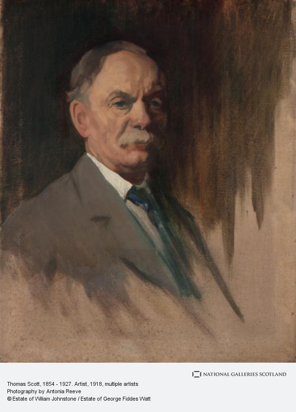 William Johnstone, Thomas Scott, 1854 - 1927. Artist