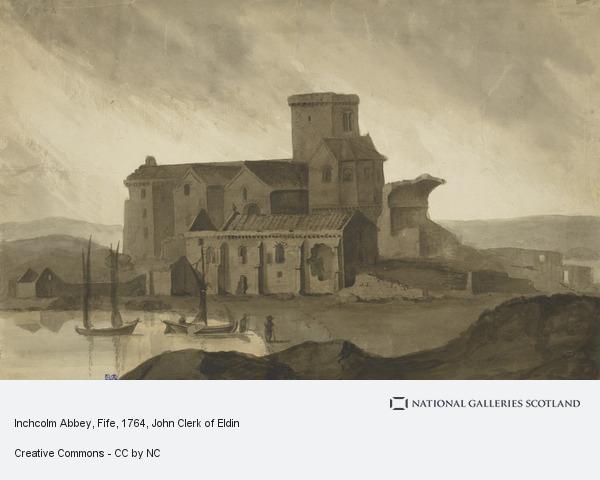 John Clerk, Inchcolm Abbey, Fife