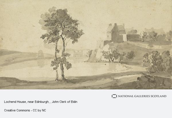 John Clerk, Lochend House, near Edinburgh