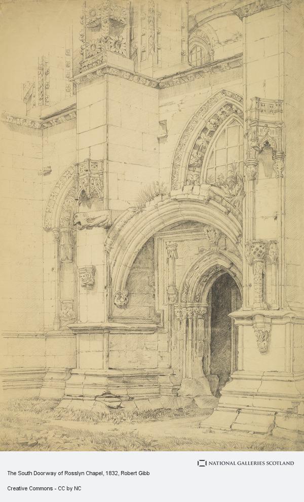 Robert Gibb, The South Doorway of Rosslyn Chapel